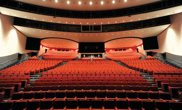The Auditorium Liverpool Empty