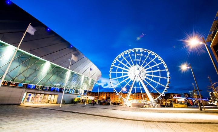 Echo Arena At Night