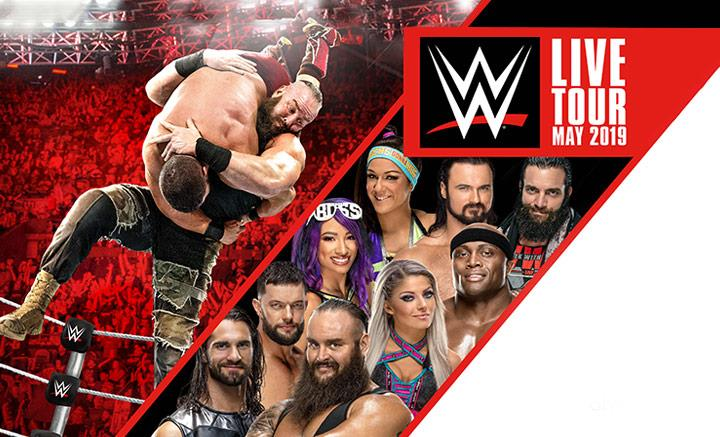 WWE Live 2019 - What's On | M&S Bank Arena Liverpool